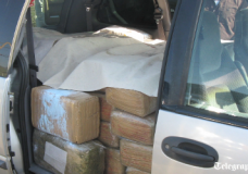 How marijuana is smuggled across Mexican border