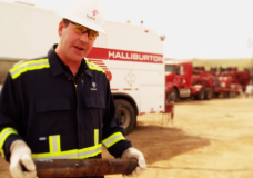 Williston ND: Inside a fracking site